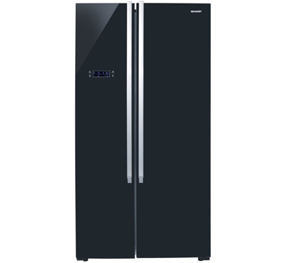Frigo side by side SHARP 640 NOIR | Electromenager Dakar