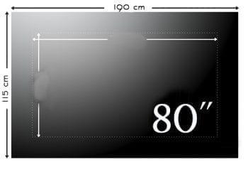 Téléviseur 80-89 pouces