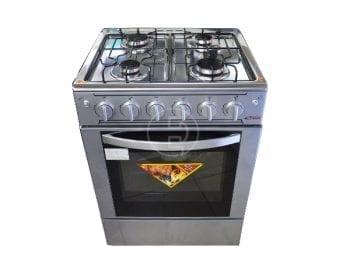 Cuisinière gaz ASTECH 4feux 60 x 60_Inox