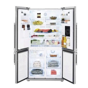 REFRIGERATEUR BEKO GNE 134620X SIDE BY SIDE 04 PORTES