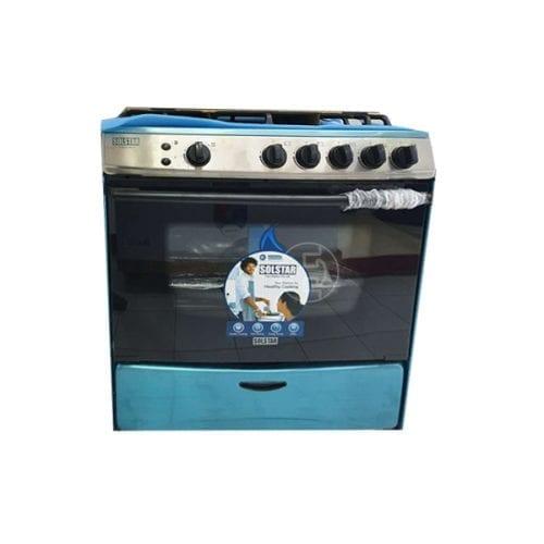 Cuisinière à gaz Solstar SO582GGINVSS - 5 feux