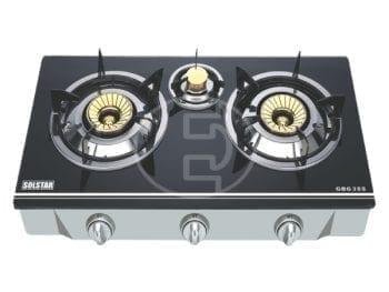 Plaque de cuisson à gaz Solstar - 3 feux
