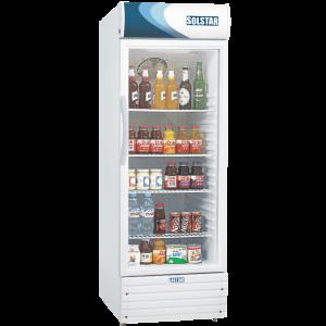 réfrigérateur vitrine solstar 330l 1porte