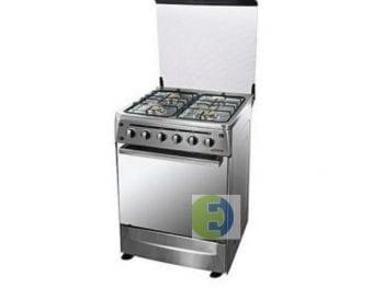 Cuisinière gaz ASTECH 4feux 50 x 50_Inox CS-50FO