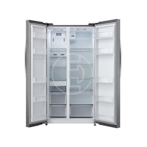 Réfrigérateur Panasonic NR-BS60MSAS - 600 litres - Side-by-Side