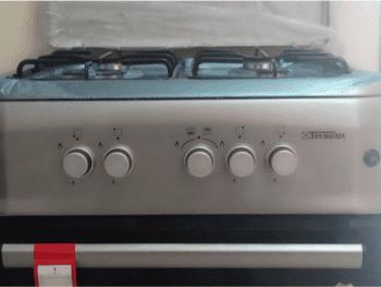 Cuisinière tecnolux 6060 4 feux 1
