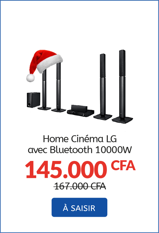 Home Cinema LG avec Bluetooth 10000W