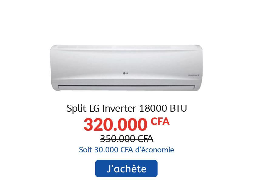 Split LG INVERTER 18000 BTU
