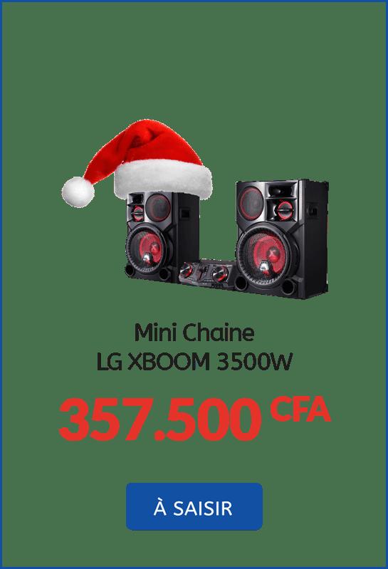 mini Chaine LG XBOOM 3500w