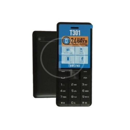 Tecno T301 Double SIM - Noir - Batterie 1650 mAh