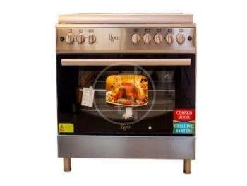 Cuisinière Roch 5 Feux 90X60 INOX F9L50 G2- IL
