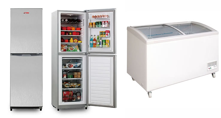 Qu'est-ce qui différencient le réfrigérateur et le congélateur ?