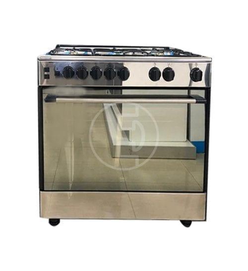 Cuisinière à gaz Beko GG15117CXYV - 5 Feux INOX