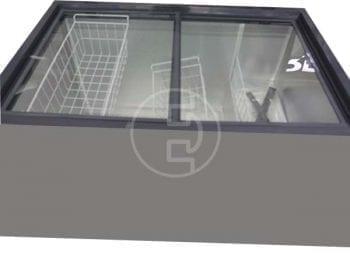Congélateur horizontal Solstar CF540-SGFSLVSS - 540 litres