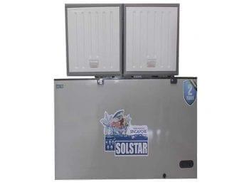 Congélateur horizontal Solstar CF680-DFSLVSS - 680L