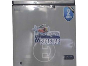 Congélateur coffre Solstar CF140-SGFSLV SS - 140L Gris