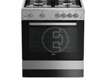 Cuisinière Beko FSGT62111GS 4 feux