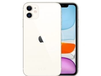 Apple iPhone 11 (128Go) - Blanc