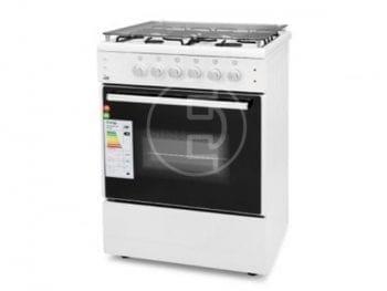 Cuisinière GL-General 4 feux - 60x60 Blanc