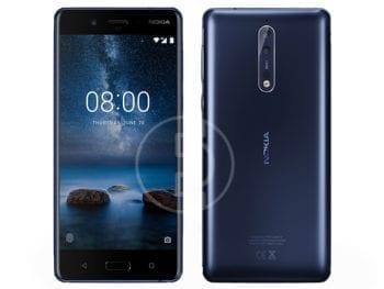 Téléphone Nokia 8 - 64GO, RAM 4GO