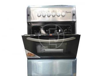Cuisinière Ferre 4 feux F6S40G2-INOX avec grill