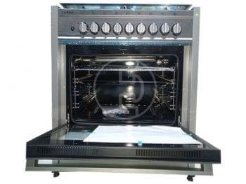 Cuisinière Luxell LF69GG-60 - 6 feux, à gaz