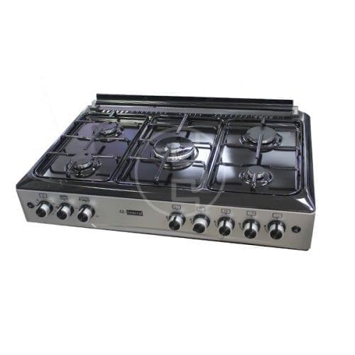 Cuisinière General 5 feux - 90x60 Semi Inox