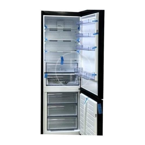 Réfrigérateur combiné Finix Noir - 360L, A++