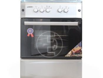 Cuisinière à Gaz Tecnolux 4 feux - 60x60 Inox