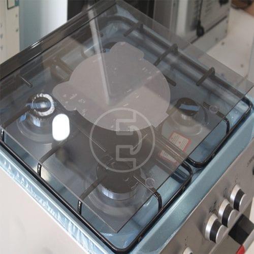 Cuisinière à Gaz Tecnolux 4 feux - 60x60 Semi-inox