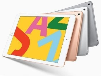 "Tablette Apple iPad 2019 10,2"" Quad Core 3 GB RAM 32 GB"
