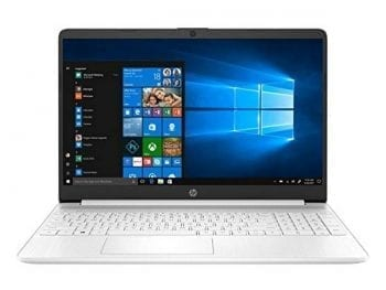 "Ordinateur Portable HP 15S-FQ1005NS 15,6"" i7-1065G7 8 GB RAM 256 GB SSD Blanc"