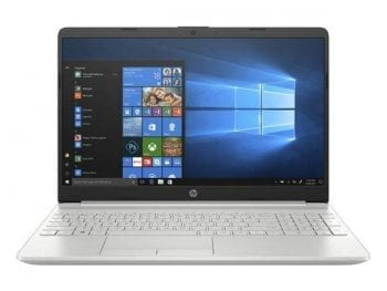 "Ordinateur Portable HP 15.6"" i7-10510U 8 GB RAM 512 GB SSD Argenté"