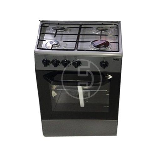Cuisinière à gaz Beko CSG42000GS - 4 FEUX