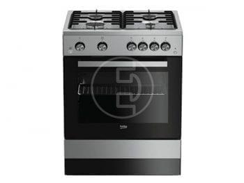 Cuisinière Beko FSGT62111GXL 60x60 - 4 feux