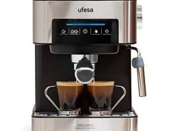 Café Express Arm UFESA CE7255 - 1,6L 850W Acier inoxydable