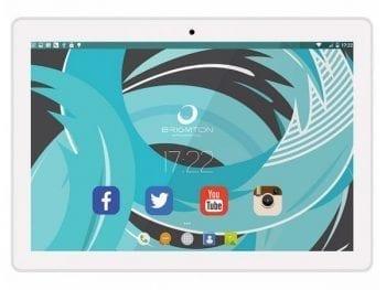 "Tablette BRIGMTON BTPC-1024 10,1"" 2 GB RAM 16 GB Blanc"