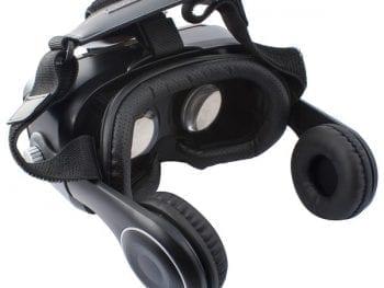 Lunettes de Réalité virtuelle avec Écouteurs KSIX Noir