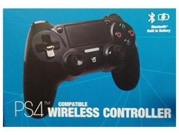 Manette gaming Sans Fil PS4 Kaos 70003 Bluetooth Noir