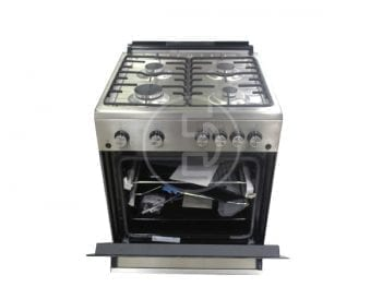 Cuisinière à gaz Beko FSGT62111GSC - 4 feux