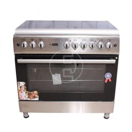 Cuisinière GL-General 90x60 - 5 feux Inox HI