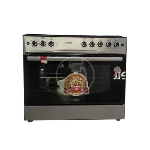 Cuisinière à gaz GL-General 90x60 - 5 feux INOX