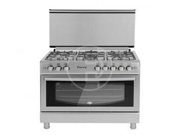 Cuisinière Ferre 90X60 F9P50G2 - 5 feux INOX avec grill