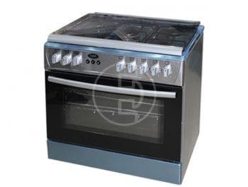 Cuisinière à gaz Xper  GF90X50 - 5 feux INOX