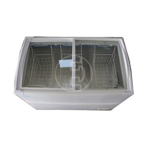 Congélateur vitrine Changer 286 - 500 L Blanc