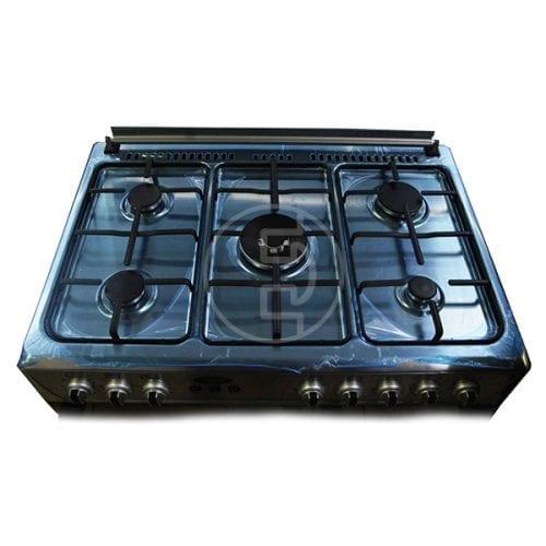 Cuisinière à gaz Xper PB9050X - 5 feux INOX