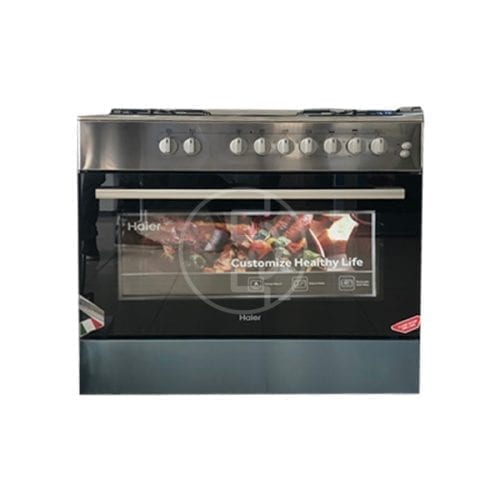 Cuisinière mixte Haier HCR6042EES - 6 feux