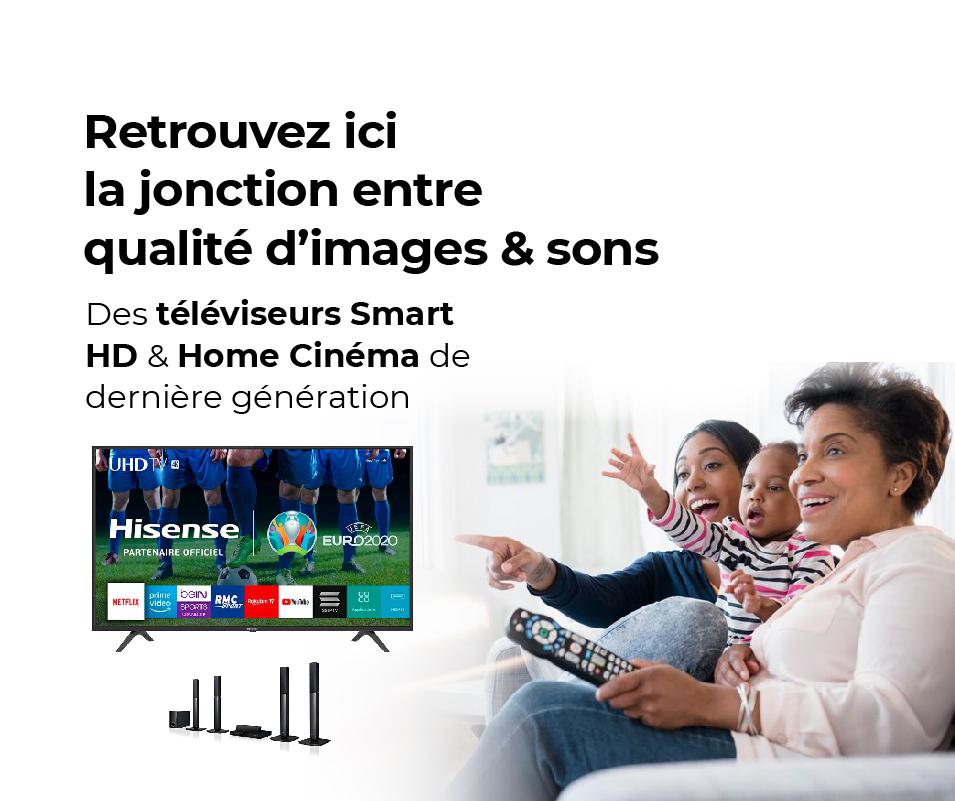 "Téléviseur Hisense 32""LED Smart TV 32B6700 | Aindroid"