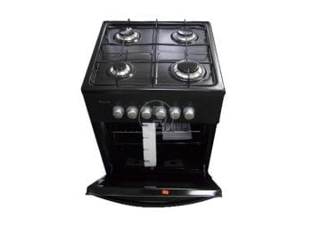 Cuisinière à gaz Ferre F5C40G2-N - 4 feux