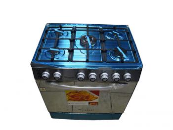 Cuisinière à gaz Westpool GS7660 - 5 feux Full Option
